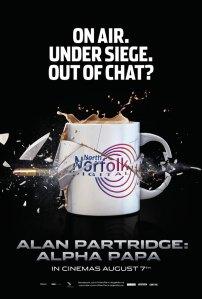Alan Partridge Alpha Papa poster